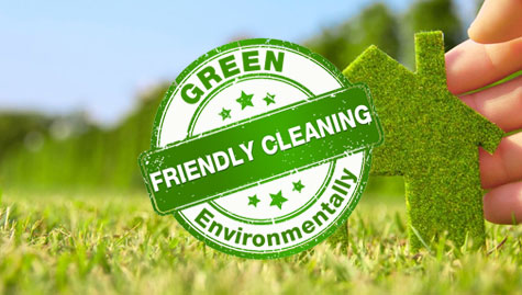 Green Environmentally Friendly Cleaning