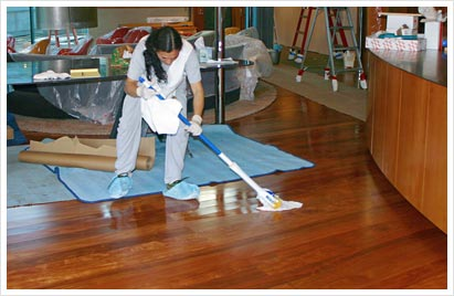 SonoMarin's Cleaning Tips: How to Clean a Hardwood Floor