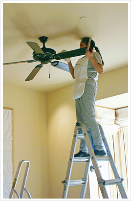 SonoMarin's Cleaning Tips: How to Clean a Ceiling Fan