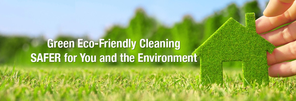 Green Eco-Friendly Cleaning SAFER for You and the Environment